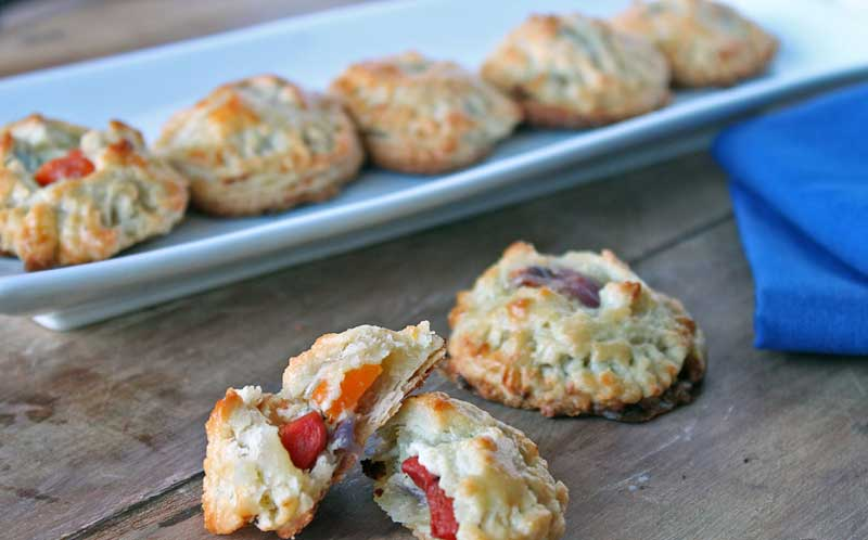 Roasted Veg + Ricotta Hand Pies