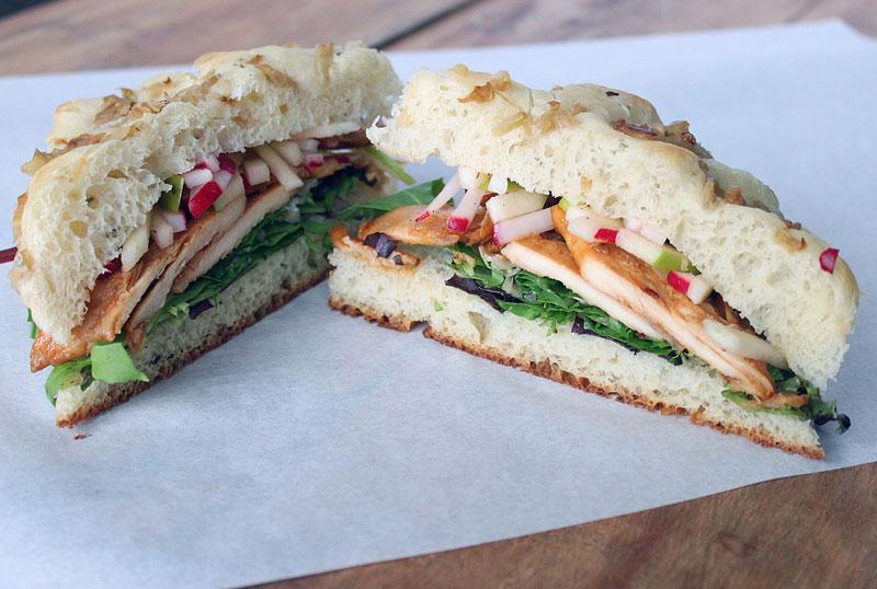 Sweet + Spicy Chicken Sandwich