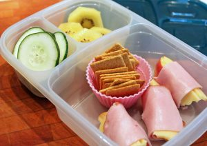 Ham and Apple Rollups