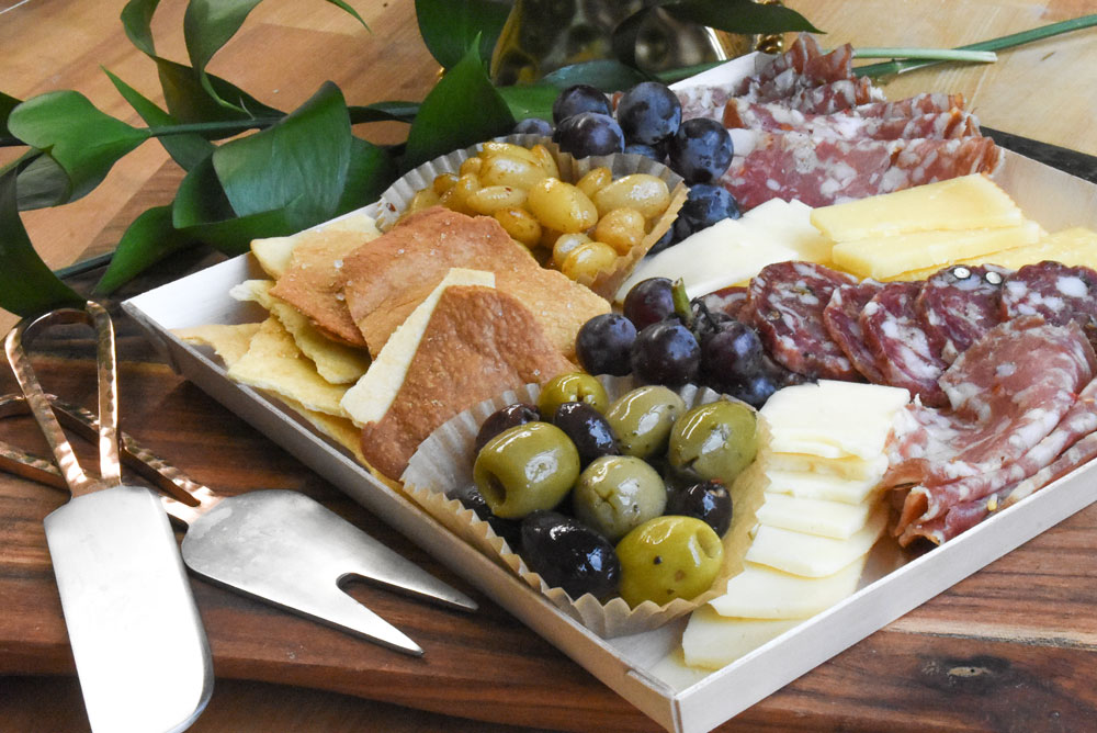 Local Cheese + Chacuterie Board