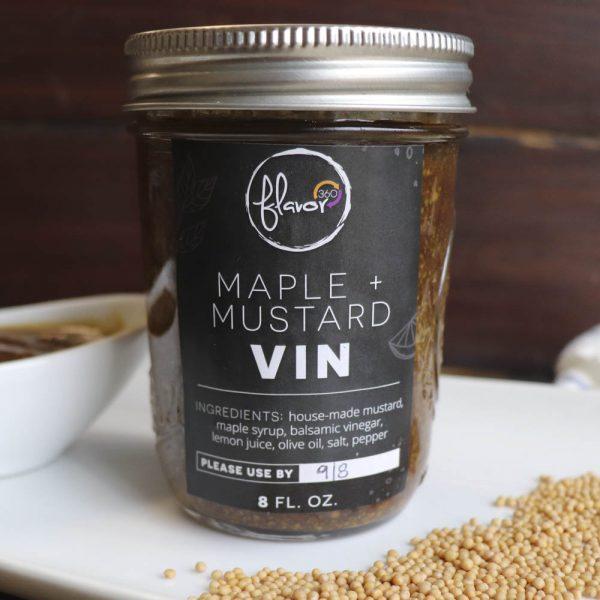 Maple + Mustard Vin | Flavor 360 Salad Dressing