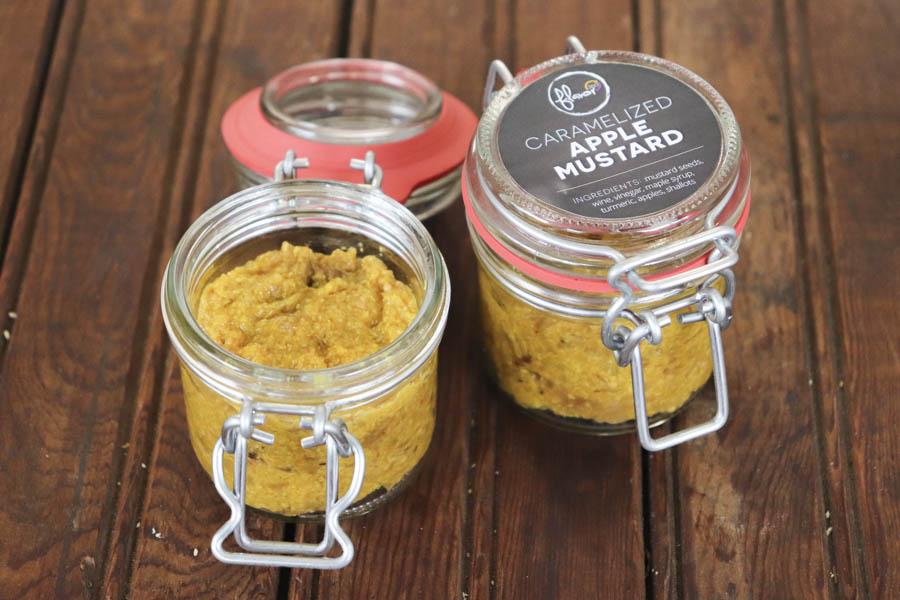 Caramelized Apple Mustard
