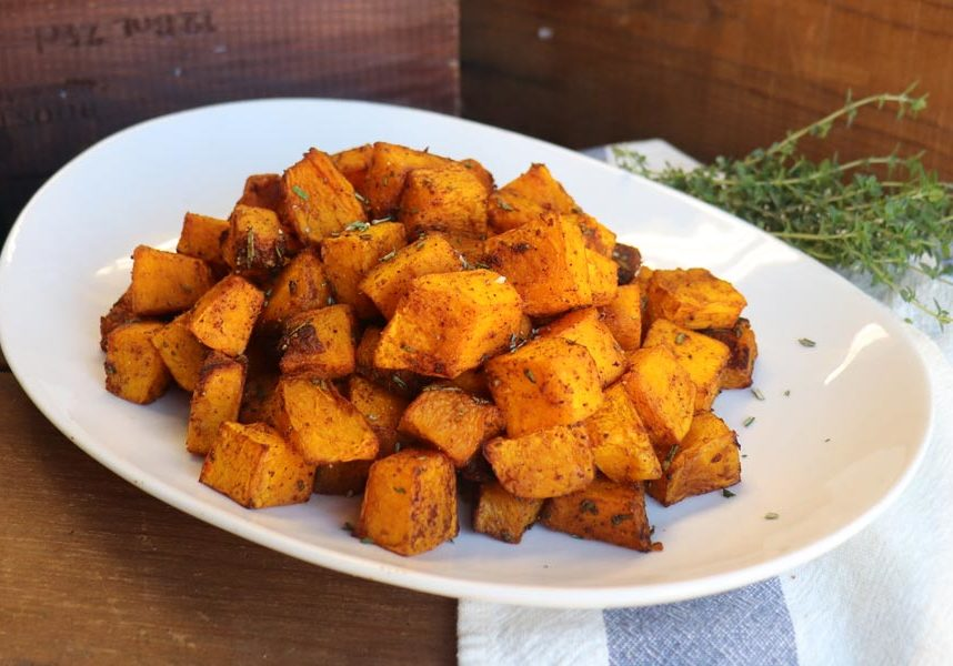 Thanksgiving Catering St Louis Spiced Roasted Pumpkin + Squash